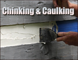 Chinking And Caulking  Bedford County, Virginia